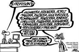 Definición del sufrido profesor de Lengua
