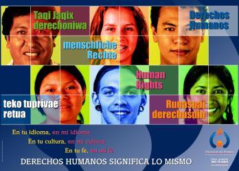 60 Aniversario Declaración Universal DD.HH.