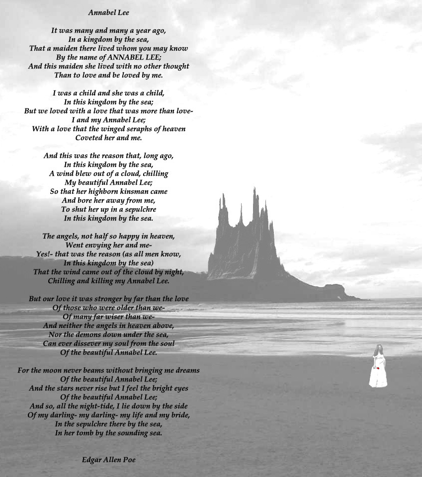 annabel lee poetry analysis Annabel lee poetry analysis stephanie penn analysis of annabel lee - duration: poem ~ annabel lee by edgar allan poe freesound - duration.