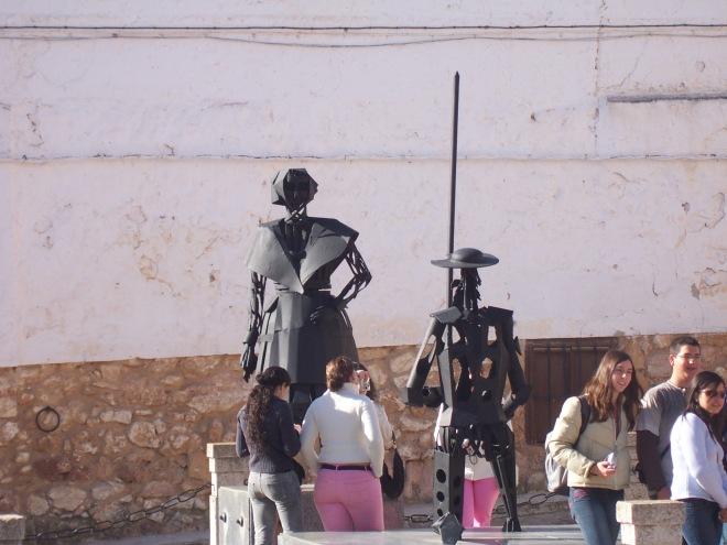 Supuesta Dulcinea & Supusto Quixote